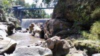 PEMANDANGAN di Dam Peraupan, Desa Peguyangan Kaja, Kecamatan Denpasar Utara.