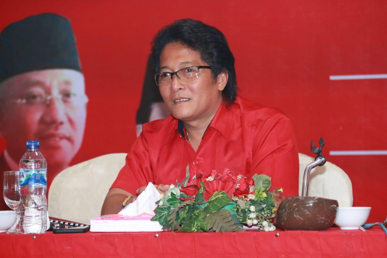 BUPATI Giri Prasta diundang sebagai keynote speaker pada Rakerda PDIP di Kepulauan Riau tahun 2020, Sabtu (22/2/2020).