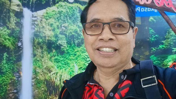 Ket foto : Wartawan Senior yang juga Ketua Umum KONI Badung Made Nariana.