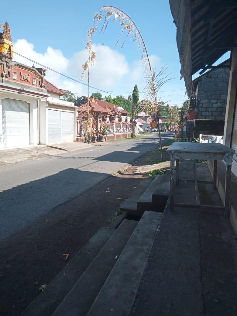 Suasana Nyepi desa adat di Desa Adat Ngis, Kecamatan Abang, Karangasem, Senin (24/2/2020).
