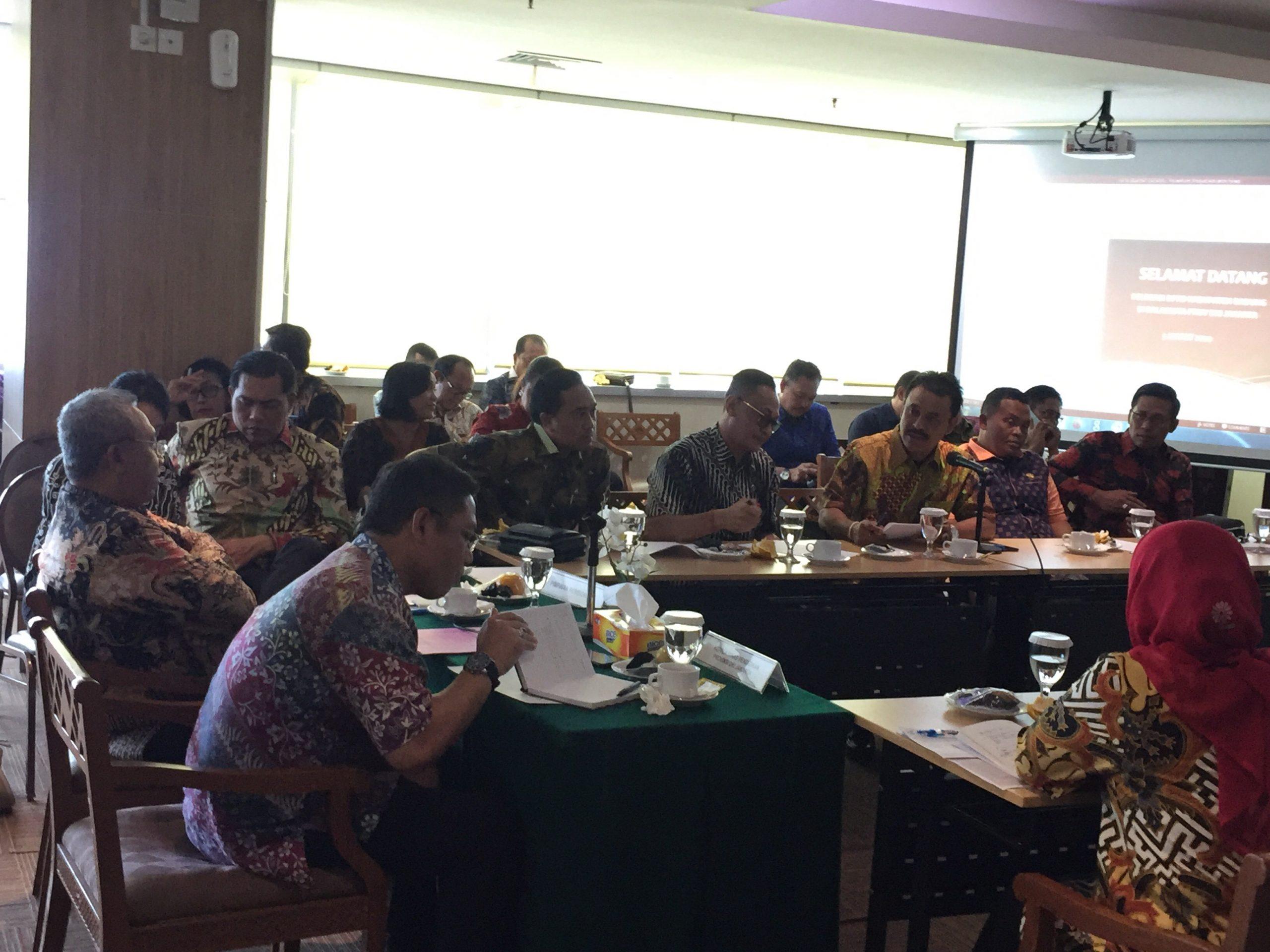 KOMISI IV DPRD Badung saat melakukan kunjungan ke DKI Jakarta. Foto: istimewa