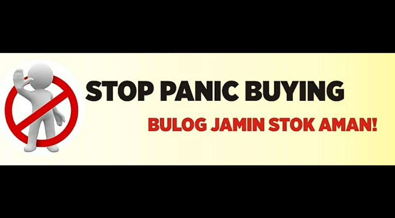 Stop Panic Buying, Bulog Jamin Stok Aman