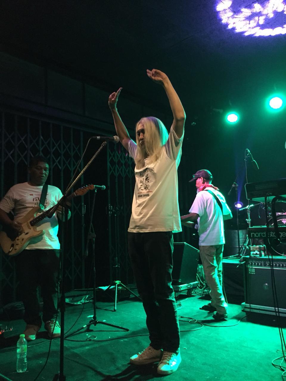 BALI Puisi Musik pentas di Antida SoundGarden, Jumat (6/3/2020) malam. Foto: istimewa