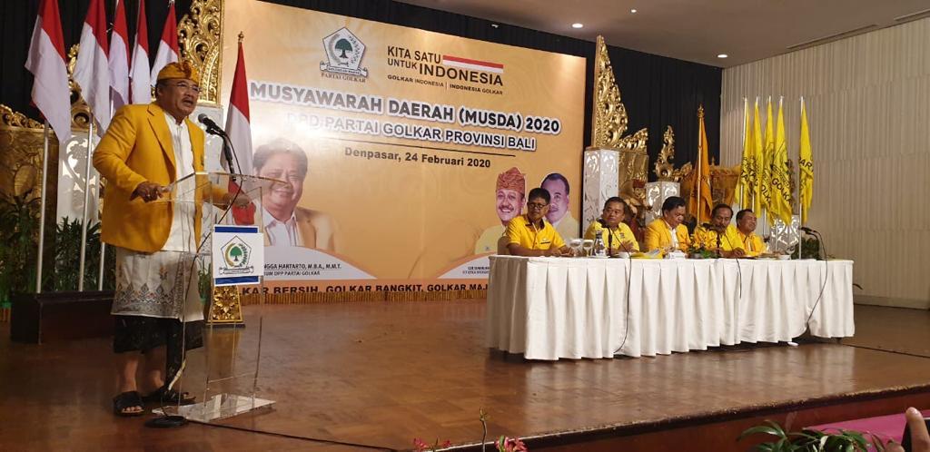 MUSDA 2020 DPD Partai Golkar Provinsi Bali