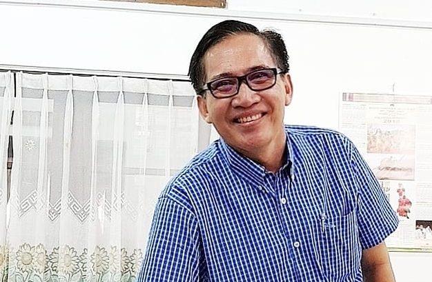 PEMBINA Yayasan BASAbali Wiki, I Gde Nala Antara. Foto: eri
