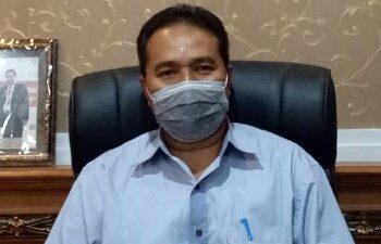 JURU Bicara Gugus Tugas Penanggulangan Covid-19 Kota Denpasar, I Dewa Gede Rai. Foto: rap