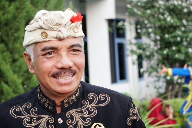 BENDESA Agung MDA Bali, Ida Panglingsir Agung Putra Sukahet. Foto: ist