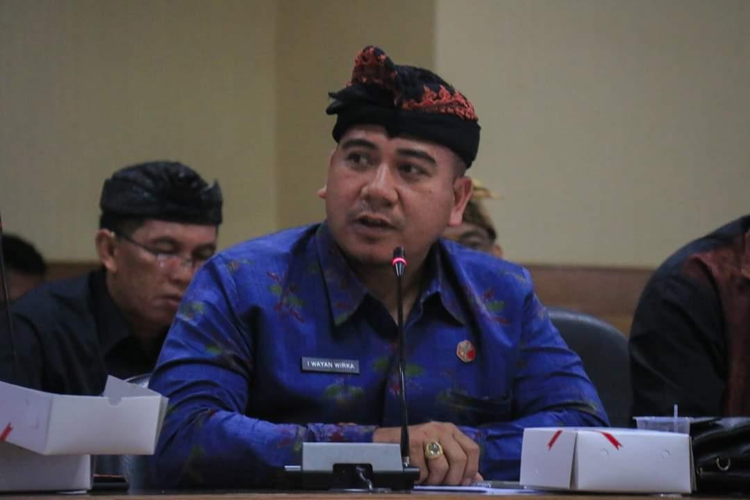 KORDIV Penindakan Pelanggaran Bawaslu Bali, I Wayan Wirka. Foto: hen