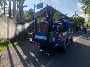 PEMKOT Denpasar membangun pola gotong royong dan kemandarian dengan menggandeng berbagai pihak untuk bersama tangani Covid-19. Foto: ist