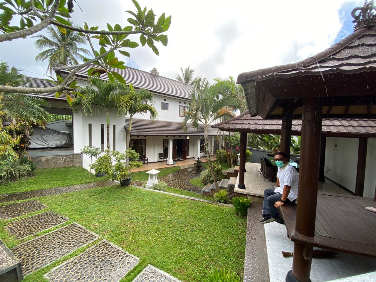 INILAH rumah Demer di Banjar Tampulawang, Desa Tajun, Kecamatan Kubutambahan, Buleleng yang diserahkan ke desa untuk dipakai lokasi isolasi PMI. Foto/Ist