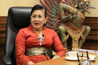KETUA Dekranasda Bali, Putri Suastini Koster. Foto: alt