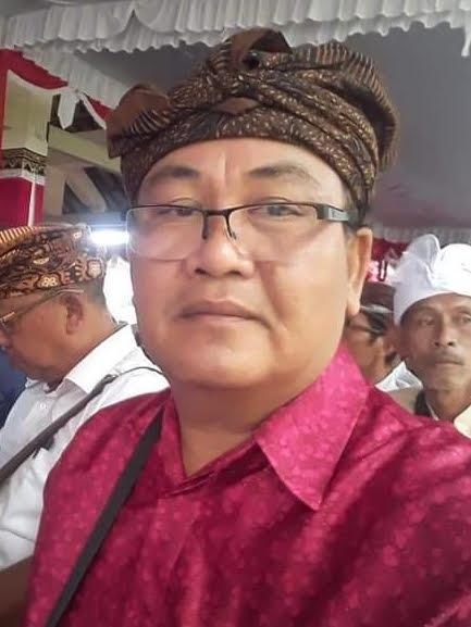 BENDESA Adat Ketewel, I Wayan Ari Suthama. Foto: ist