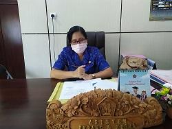 ASISTEN II Bidang Perekonomian dan Pembangunan Setda Buleleng selaku Sekretaris TPID Buleleng, Ni Made Rousmini. Foto: rik