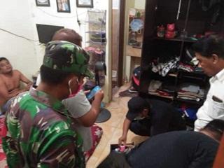 OKNUM kaur di Pemerintah Desa (Pemdes) Pengastulan, Kecamatan Seririt, Buleleng berinisial MB dibekuk petugas Badan Narkotika Nasional Provinsi (BNNP) Bali, Jumat (8/5/2020). Foto: ist