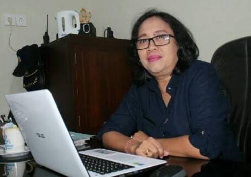 Kepala SMAN 7 Denpasar, Cok Istri Mirah Kusuma Widiawati.