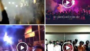 BEBERAPA potongan video yang viral di media sosial tentang adanya kerumunan di Kampung Jawa, Dusun Wanasari, Dauh Puri Kaja, Denpasar. Video ini heboh sebab saat ini masih dalam masa pandemi Covid-19. Foto: ist
