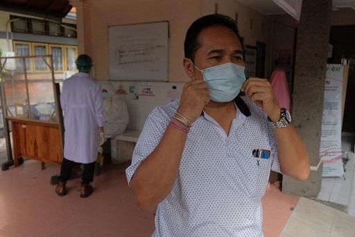 JURU Bicara GTPP Covid-19 Kota Denpasar, I Dewa Gede Rai. Foto: ist