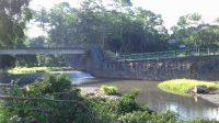 Foto: JEMBATAN GIANYAR LOKASI pembangunan jembatan yang akan menghubungkan Desa Siangan Gianyar dengan Desa Pejeng Kelod Tampaksiring. Foto: adi