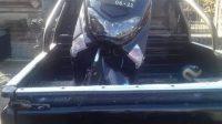 Foto: MOTOR MOTOR diduga milik pelaku tindakan tidak senonoh di pancoran beji, Banjar Kengetan, Singakerta, Ubud, diamankan warga. Foto: ist