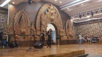 SUASANA gladi pembukaan Denpasar Festival ke-13 tahun 2020 di Dharma Negara Alaya Kota Denpasar, Rabu (30/9/2020). Foto: ist