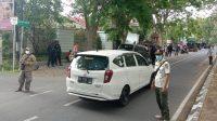RAZIA Prokes Pergub 46/2020 di Jalan Prof. Muhamad Yamin, Renon, Denpasar. Foto: alt