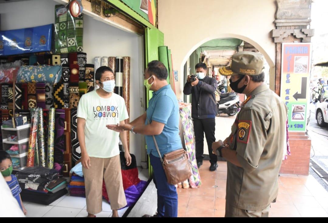 Tim Gabungan Pemkot Denpasar Tertibkan 17 Pelanggar Prokes