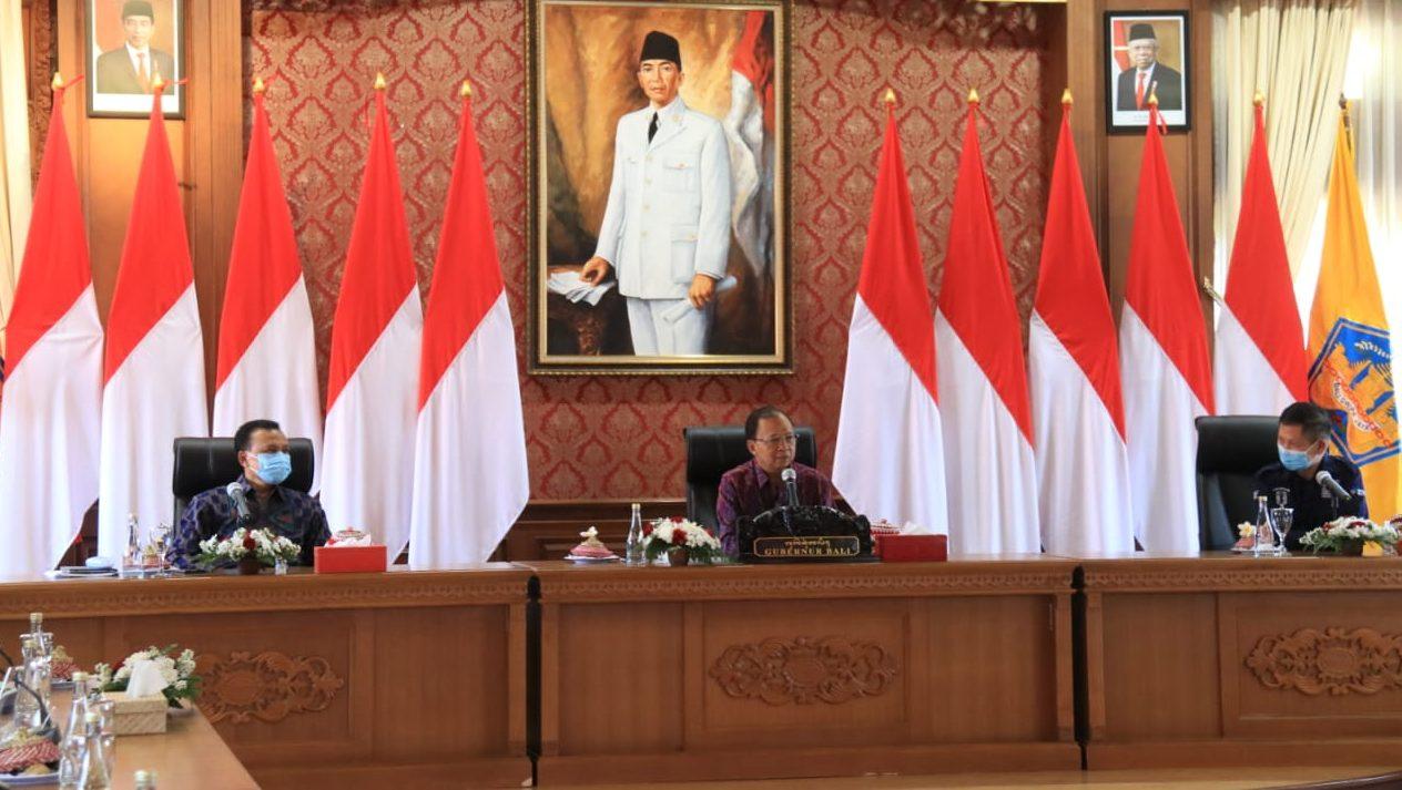 Pemprov Bali dan Tim Kemenkes Berkolaborasi Tangani Covid-19