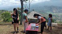 OBJEK wisata Lahangan Sweat di Desa Bunutan, Kecamatan Abang, Karangasem, sepi pengunjung sejak Covid-19. Foto: nad