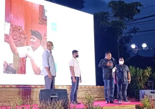 BUPATI Mahayastra luncurkan aplikasi PH Health Care untuk RS Payangan. Foto: adi