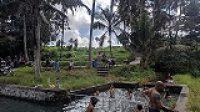 SUASANA di Taman Sari atau Bebengan, Desa Pakraman Bukit Jangkrik, Kelurahan Samplangan, Gianyar, di Umanis Kuningan. Foto: adi