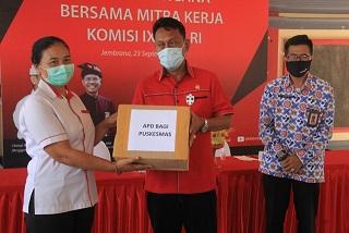 SOSIALISASI program Bangga Kencana di Balai Desa Yehembang Kauh, Mendoyo, Jembrana, Rabu (23/9). Foto: man