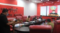 Pos bali/ist Rapat paripurna terkait dengan penjelasan Bupati terhadap ranperda inisiatif DPRD Jembrana, Senin (21/9).