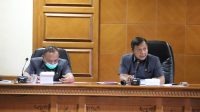 PANSUS Penyertaan Modal Perumda Air Minum Tirta Mangutama melakukan rapat finalisasi, Senin (19/10/2020). Foto: ist