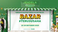 Bazar #TerusUsaha dari Grab Indonesia. Foto: ist