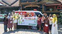 PARA bidan Salam Menyapa yang akan berkeliling ke semua wilayah di Mataram guna menjaga kesehatan ibu hamil, balita dan anak di Mataram. Foto: rul