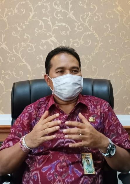 JURU bicara Gugus Tugas Percepatan Penanganan (GTPP) Covid-19 Kota Denpasar, I Dewa Gede Rai. Foto: ist