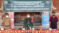 ACARA pembukaan Program KB Kesehatan Semerter II di Desa Yehsumbul, Kecamatan Mendoyo, Jembrana, Selasa (20/10/2020). Foto: ist