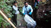 PENEMUAN tulang di Tukad Pakerisan, Desa Bona, Kecamatan Blahbatuh. Foto: Ist