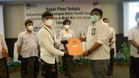SUASANA penetapan DPT untuk Pilkada Denpasar 2020 oleh KPU Denpasar di satu hotel di Sanur pada Jumat (16/10/2020) lalu. Foto: Ist