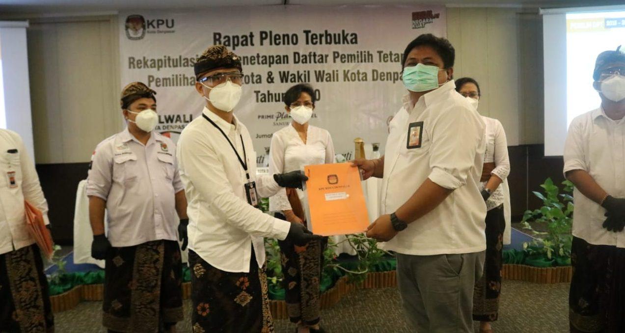 Pendataan WNA Ber-KTP Perlu Diperbaiki, Pilkada Denpasar Perebutkan 444.929 Pemilih