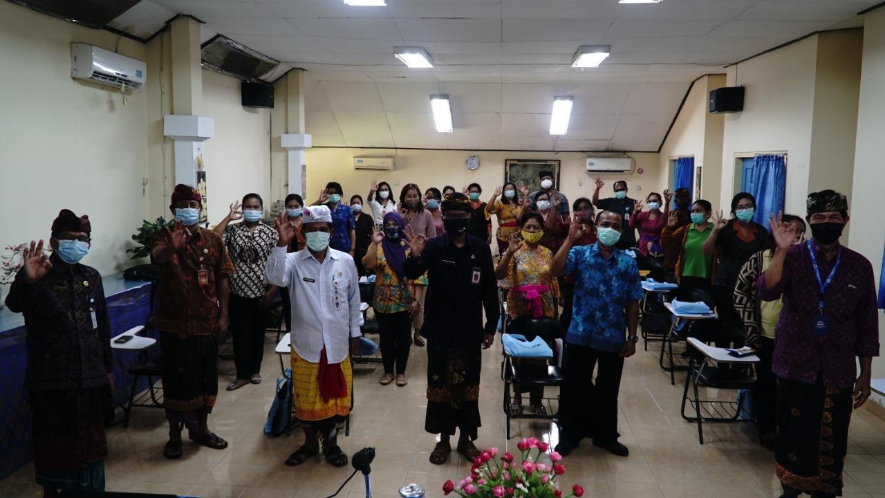 ORIENTASI kader Bina Keluarga Remaja (BKR) di Kantor Perwakilan BKKBN Provinsi Bali, Kamis (12/11/2020). Foto: ist