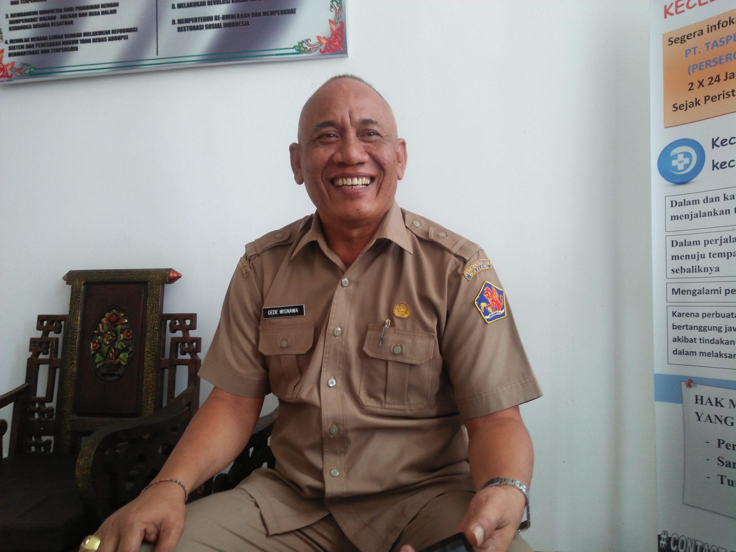 KEPALA BKPSDM Buleleng, Gede Wisnawa. Foto: ist