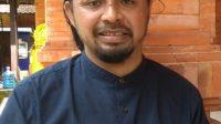 PENGGAGAS upacara Ruwat Bumi Nangluk Merana Agung, Ida Bagus Made Bhaskara. Foto: adi