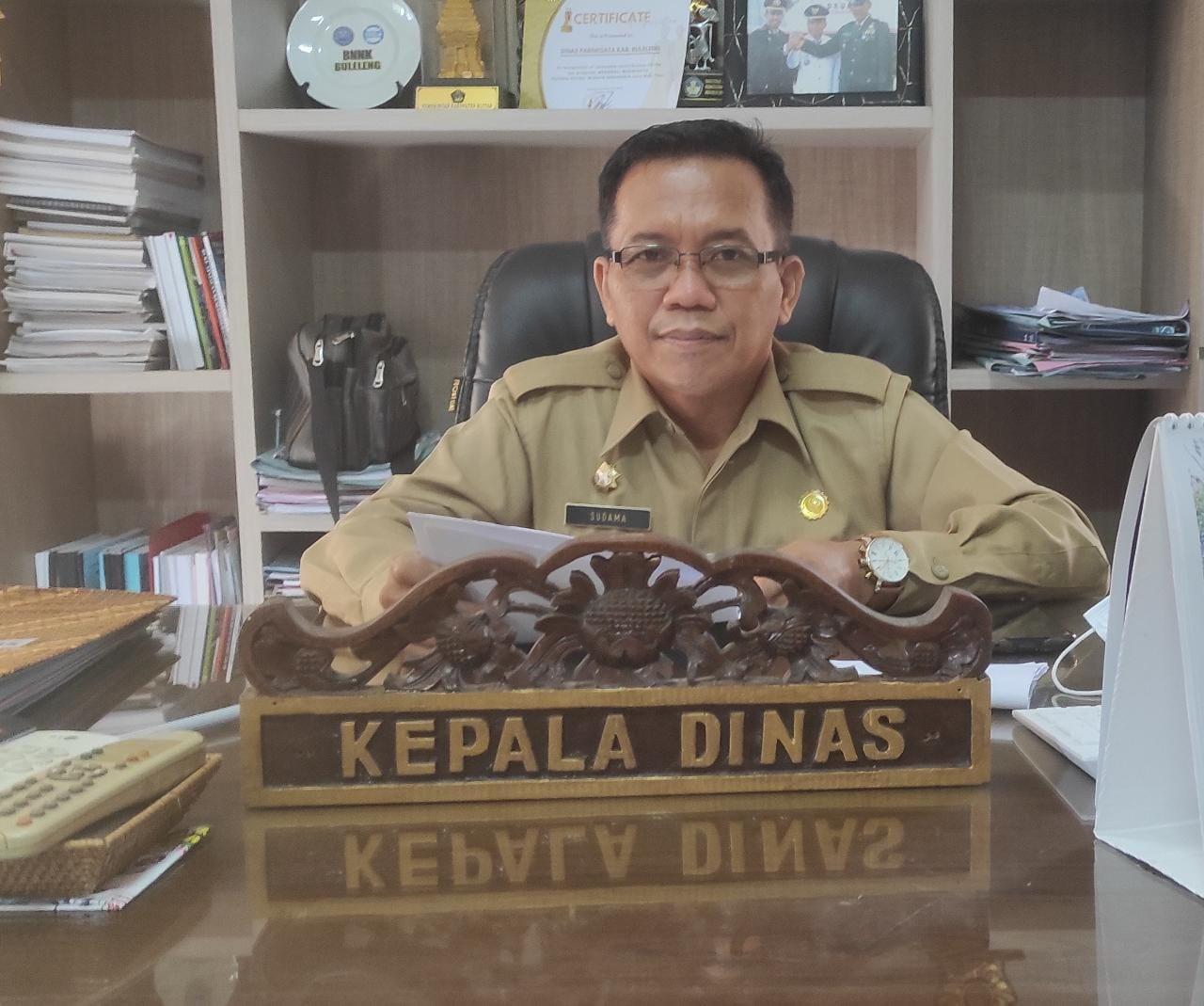 KEPALA Dinas Pariwisata Kabupaten Buleleng, Made Sudama Diana. Foto: rik