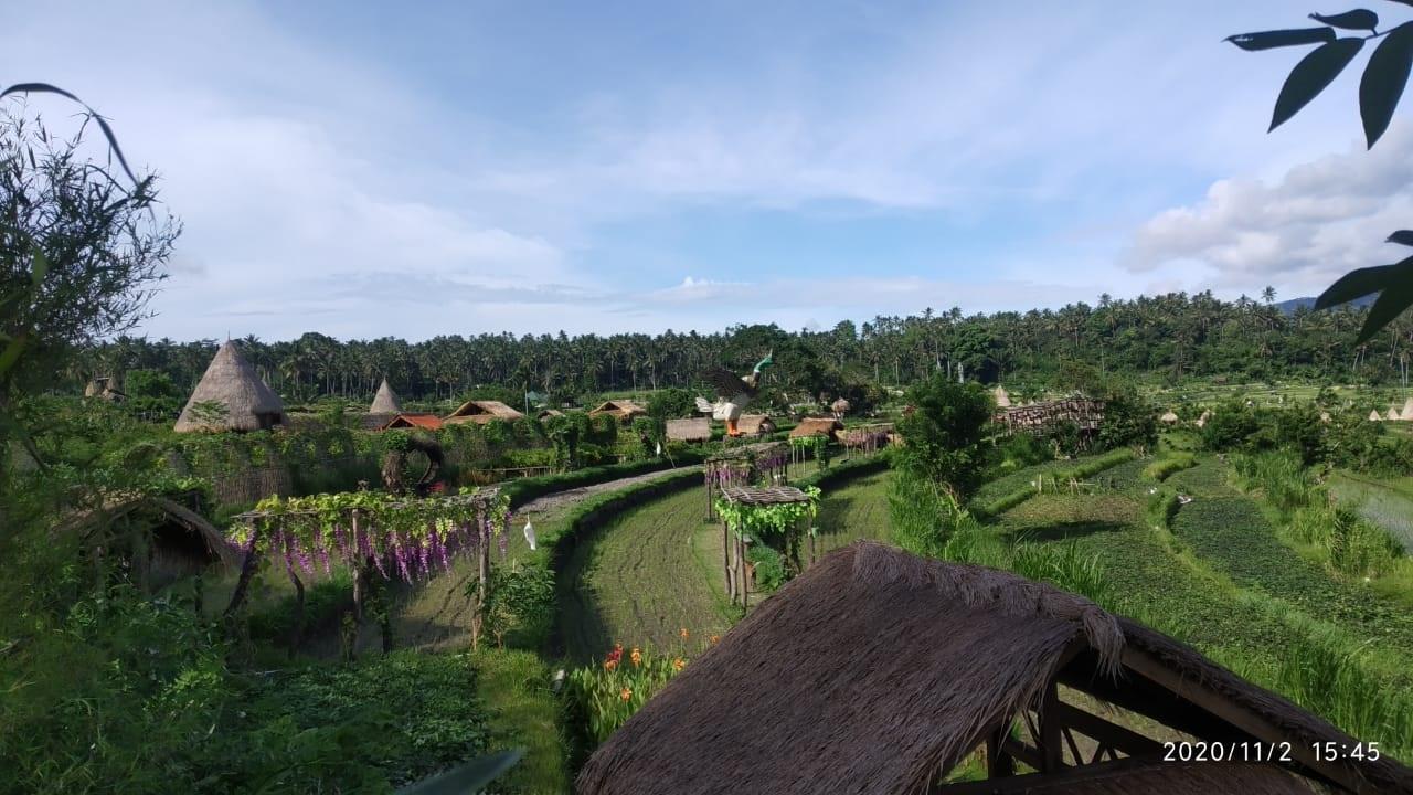 OBJEK wisata Maha Gangga Valley di Desa Ababi, Kecamatan Rendang. Foto: nad