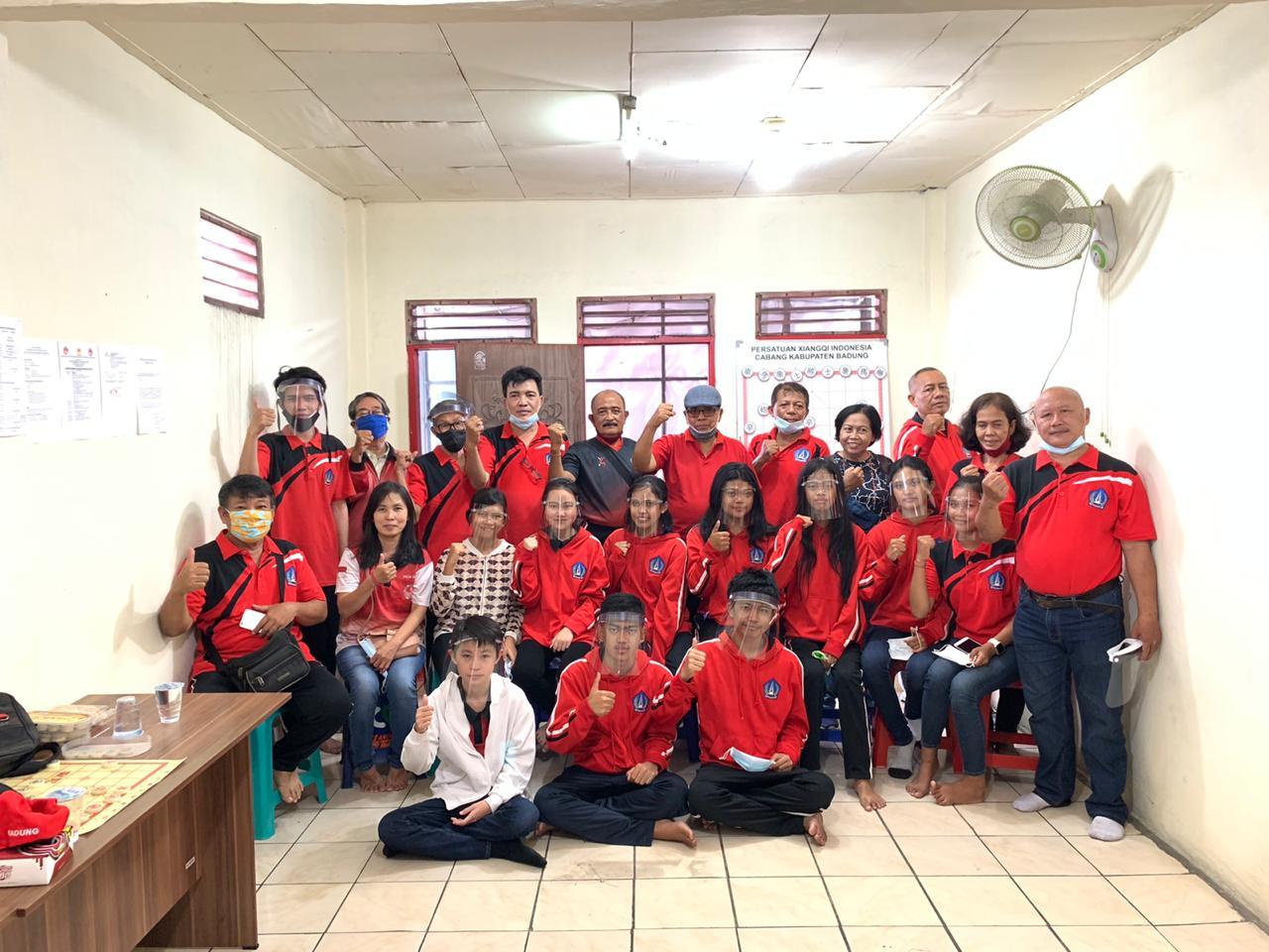 MONEV Pimpinan KONI Badung di cabor Pexi Badung. Foto: nar