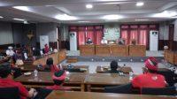 RAPAT membahas PAW DPRD Karangasem, belum lama ini. Foto: nad