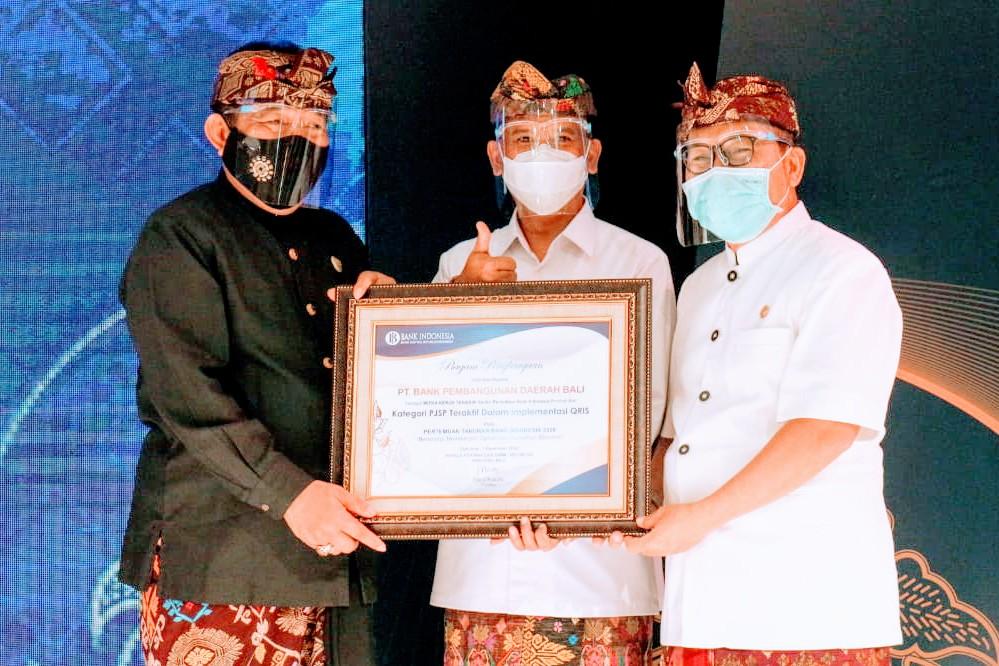 Bank BPD Bali Sabet Tiga Penghargaan dari Bank Indonesia