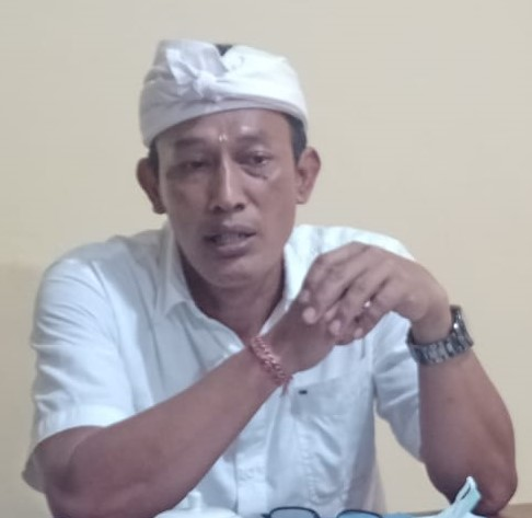 DIREKTUR PDAM Bangli, Dewa Gede Reno Suparso Mesi. Foto: gia