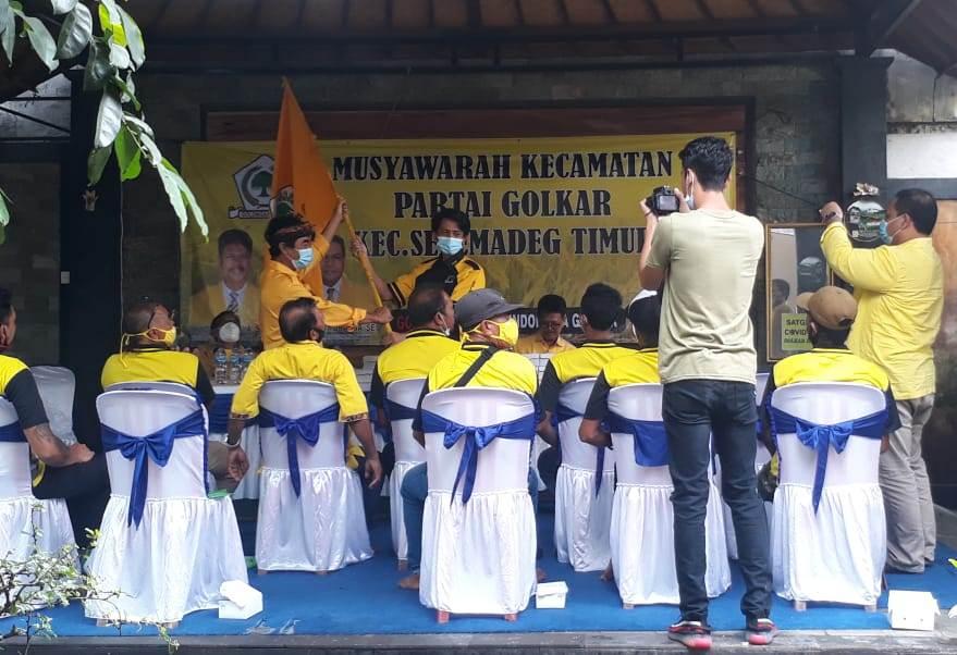 MUSCAM PK Partai Golkar Seltim, Minggu (20/12/2020). Foto: gap